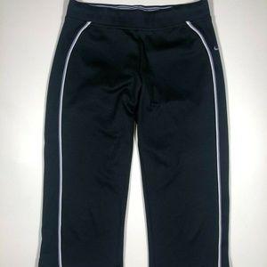 NIKE Womens Black Capri Pants, Size Small 4 to 6
